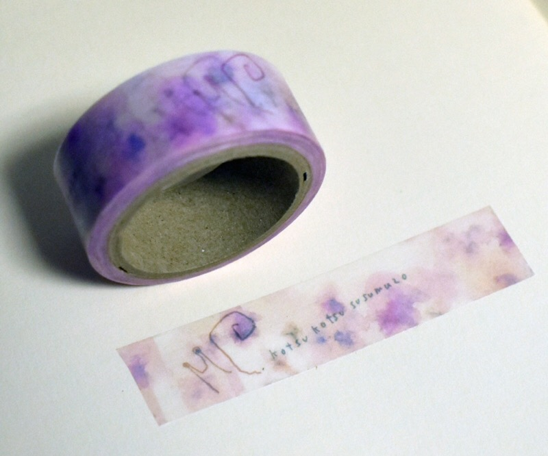 かたつむり柄マスキングテープ